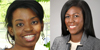 (left) An image of Dr. Michelle Antoine smiling at the camera (right) An image of Dr. Paule Joseph smiling at the camera